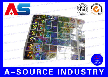 চীন Anti Fake Hologram Security Stickers , Printing 3d Hologram Security Labels Tamper Proof সরবরাহকারী