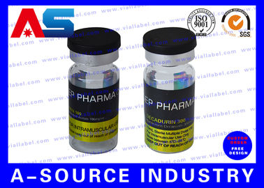চীন Custom Steroid 10ml Vial Bottle Label Waterproof Glossy Finish Packing কারখানা