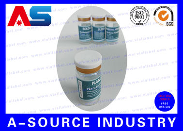 চীন Professional Plastic Vial Sticker 10ml Bottle Labels For Pharma Package কারখানা