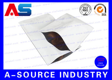 চীন Heat Seal Custom Printed Resealable Aluminum Foil Packaging Bags SGS ISO 9001 কারখানা