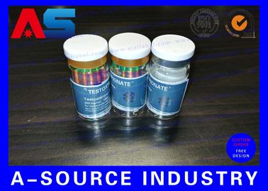 চীন 10ml Printed Labels On A Roll Holographic Prescription Vial Label 4C Full Color কারখানা