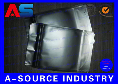 চীন Matt Black Heat Seal Aluminum Foil Bags With Zip Lock / Mylar Sleeves পরিবেশক